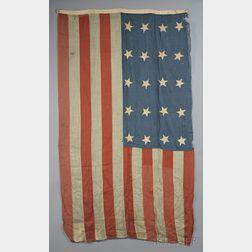 Twenty-star American Flag