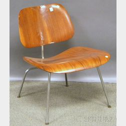 Eames Laminated Wood and Metal LCM Chair