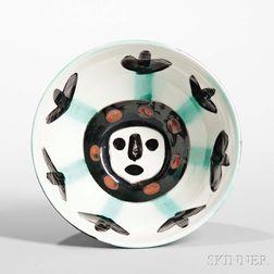 Pablo Picasso (1881-1973) Visage Bowl