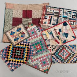 Seven Mennonite Doll Quilts