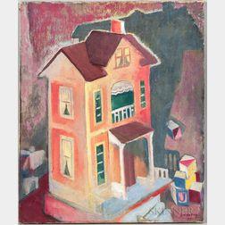Carl E. Lindborg (American, 1903-1994)      Doll House