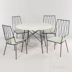Paul McCobb for Arbuck Pavilion Collection Dinette Set