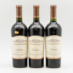Chateau St. Jean Cabernet Sauvignon Cinq Cepages, 3 bottles