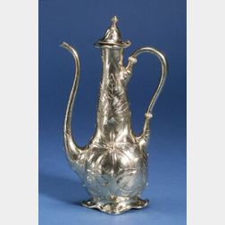 Gorham Martele Gold-washed Sterling Silver Coffeepot