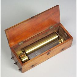 Early Key-Wind Musical Box by Ducommun Girod