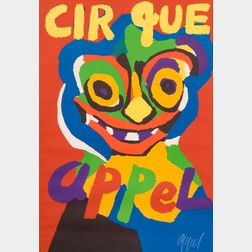 Karel Appel (Dutch, 1921-2006)    Cirque Appel