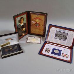Five Miscellaneous Cased U.S. Coins