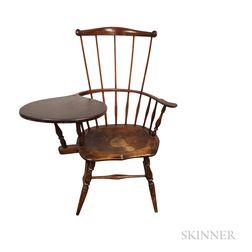 Fan-back Writing-arm Windsor Chair