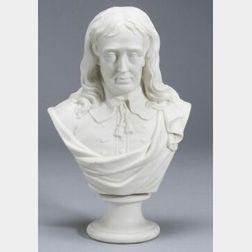 Parian Bust of Milton