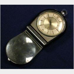 Enamel Travel Clock, Jaeger LeCoultre