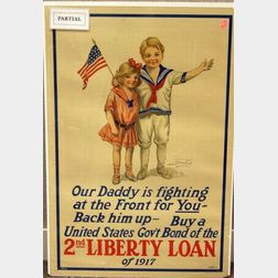 Three United States WWI Lithographed Posters
