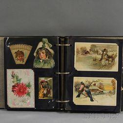 Album of Mostly Victorian-era Trade Cards