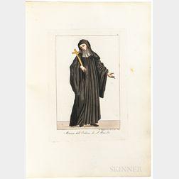 Capparoni, Giuseppe (1800-1879) Raccolta degli Ordini Religiosi che esistono nella Citta di Roma; [and] Raccolta degli Ordini Religiosi