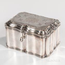 Dutch .934 Silver Tea Canister