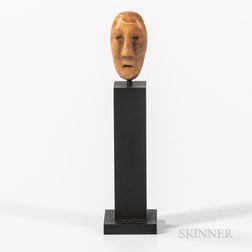 Eskimo Human Head Amulet