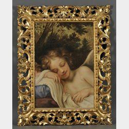 After Baldassarre Franceschini, called Il Volterrano (Italian, 1611-c. 1690)      Sleeping Cupid