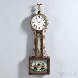 """E. Howard & Co. Patent Timepiece or """"Banjo"""" Clock"""
