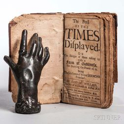 Willard, Samuel (1640-1707) The Peril of the Times Displayed.