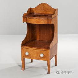Tiger Maple Washstand