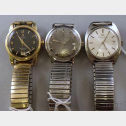 Three Men's Wristwatches