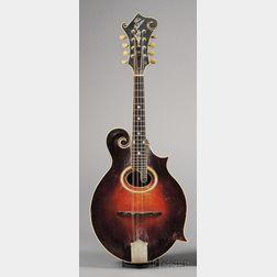 American Mandolin, Gibson Mandolin-Guitar Company, Kalamazoo, c. 1923, Model F4