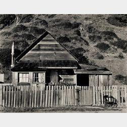 Willard van Dyke (American, 1906-1986)      Northcoast House and Chair