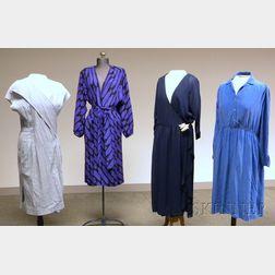 Four Vintage Dresses