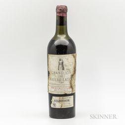 Chateau Latour 1937, 1 bottle