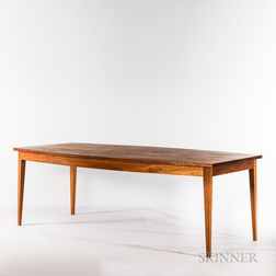 Thomas Moser Cherry Boat-top Dining Room Table