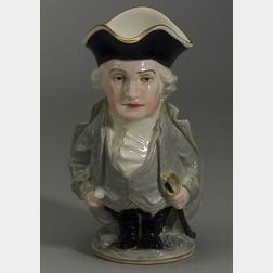 Lenox Porcelain George Washington Toby Jug