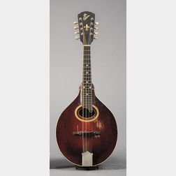 American Mandolin, Gibson Mandolin-Guitar Company, Kalamazoo, c. 1920, Model A4