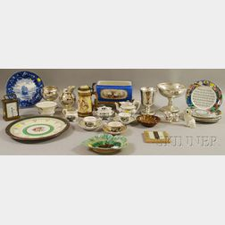 Large Lot of Victorian and Decorative Ceramic, Glass, and Miscellaneous Items