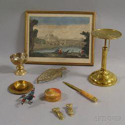Nine Decorative Items