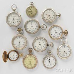 Eleven Elgin Watches