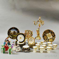 Forty-three Ceramic Decorative Items