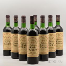 Chateau Gloria 1975, 8 bottles