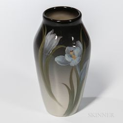 Fred Rothenbusch for Rookwood Pottery Iris Glaze Tulip Vase