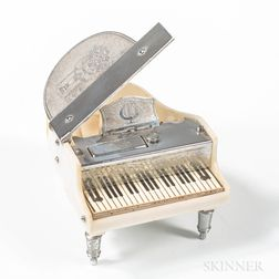 Prince Grand Piano-form Music Box
