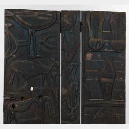 Wood Nupe Door