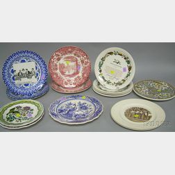 Fifteen Collector's and Decorative Plates