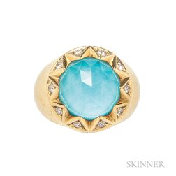 "18kt Gold ""Crystal Haze"" Ring, Stephen Webster"