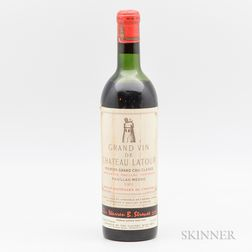 Chateau Latour 1961, 1 bottle