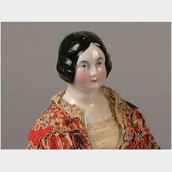 Small China Shoulder Head Doll