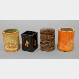 Four Brush Pots