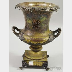 Civil War-related Silver-plated Urn
