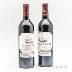 Chateau Beychevelle 2000, 2 bottles