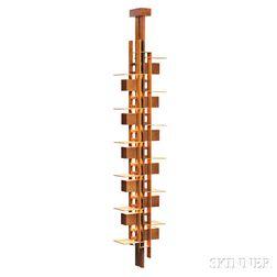 Frank Lloyd Wright Taliesin Reproduction Lamp