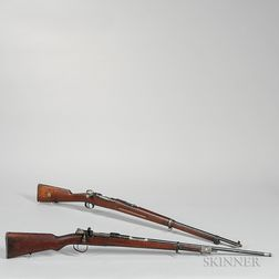 Two Mauser-type Bolt-action Rifles
