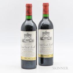 Chateau Leoville Las Cases 1982, 2 bottles