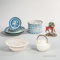Group of English and Other Ceramics